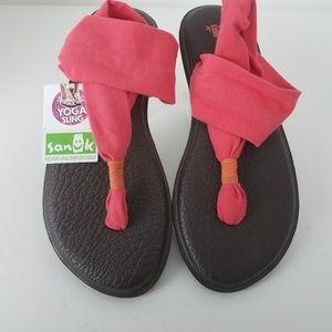 NWT Sanuk Yoga Sling 2 Sandals Size 8